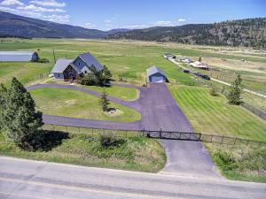 Home on 5 acres fully fenced with Coded Iron Gate