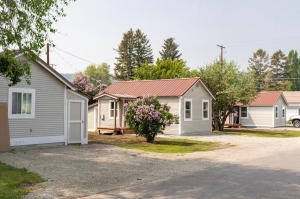 Three cute little cottages in town