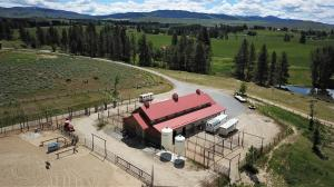 10 stall barn with grain bins and all the features a discerning buyer will appreciate.