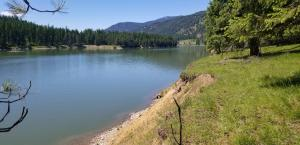 Appx. 2100 ' of River Frontage w/25.45 Acres all parked out.