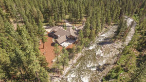 Lost Horse Creek is a premier trout stream and provides the background music for this fabulous property experience.