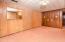 Basement Level Oversized Bedroom