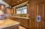 Custom cabinetry in the kitchen