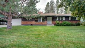 Large lot with mature landscaping.