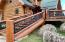 Beautiful custom designed engraved railing!