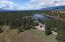 View of home and Moran Lake