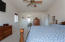 Vaulted ceilings, good-sized room With ensuite