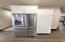 Stainless, finger print resistant Whirlpool appliances with plenty of storage