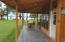Porch to guest house/cabana