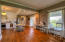 Eat-in Kitchen/ original hardwood floors throughout