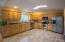 Spacious Kitchen, Unit A with quality oak cabinetry through out home from Bob's Woodworks.