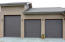 3-car attached garage with 10'x10' oversized door.