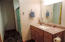 Bathroom/Lower level with shower.