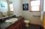 Half bathroom/Main level.