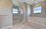 Tile Shower and soaker tub!