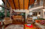 How about the beautiful cedar wood vaulted ceilings!