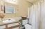 Second bedroom en suite full bathroom.