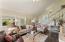Livingroom, stairs to bedrooms