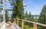 Views from the deck looking at Whitefish Mountain Ski Resort