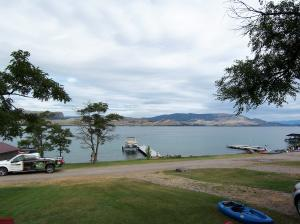 Big Arm Bay -- Cabin View