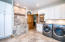 enormous laundry room with tons of storage