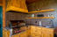 Wolf BBQ, custom cabinets and granite counters