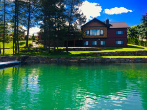 Lakside View of Lake House