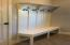 Mud room/laundry with bench