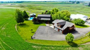 20 Acres, 3,625 sq. ft. Log Home, Detached 5-Car Garage w/Studio Apartment above, in-ground pool, pool house & sauna, 6,714 sq. ft. workshop/warehouse/office
