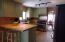Kitchen with handy breakfast bar
