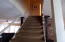 Stairway upstairs to bedrooms.