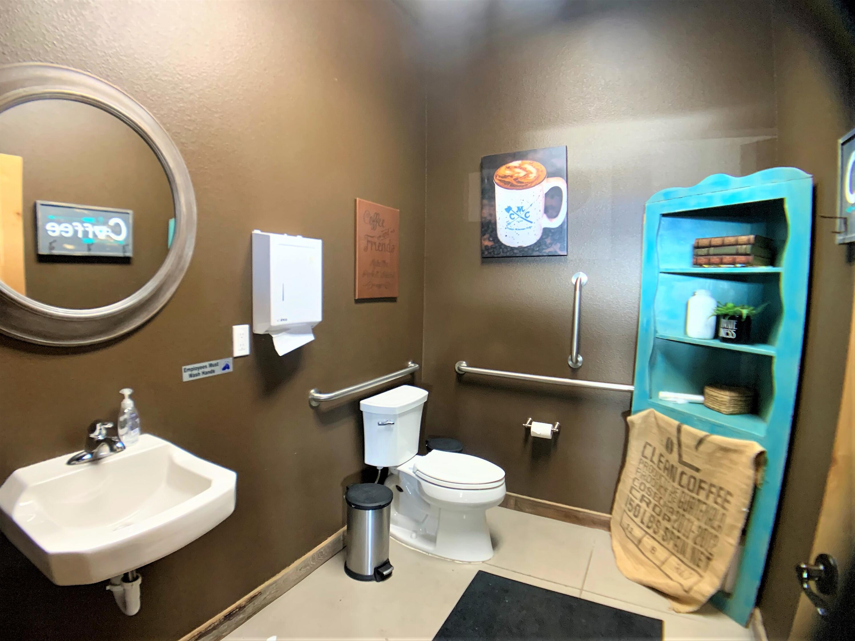 coffee shop restroom