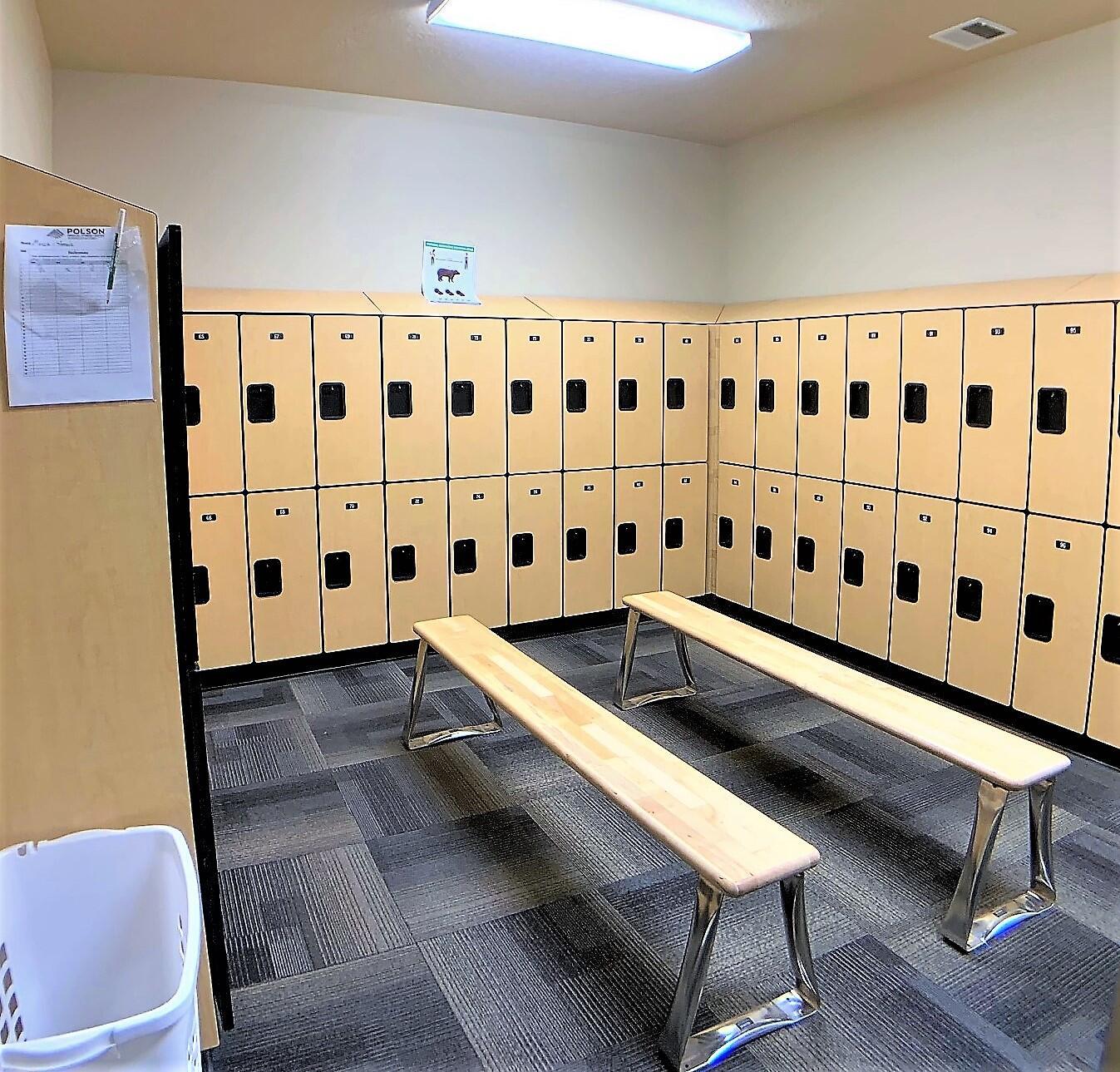 gym ladies locker room