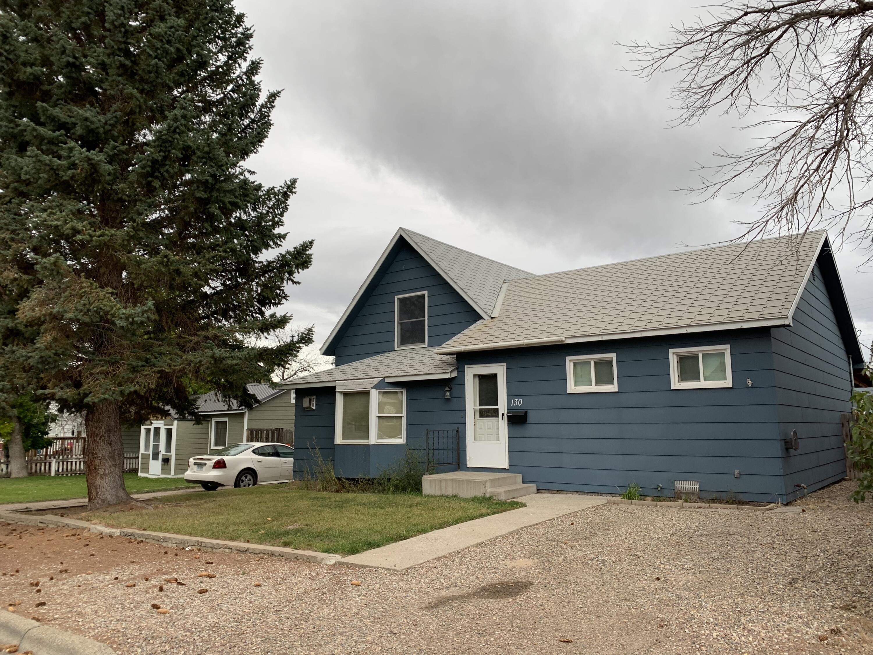 Hard to find oversized 2 car garage (1020 sqft) insulated with gas furnace & wood stove.  Large back patio and private back yard with out door fire pit. Main level has  updated kitchen with lots of storage, large dining area, living room with gas stove, master bedroom & bath, additional bath, back entry with main level laundry. Upstairs has 2 additional bedrooms and a half bath. Basement is mostly storage. Call Jessica Hedges at 406-845-3156, or your real estate professional.
