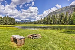 Private lake!