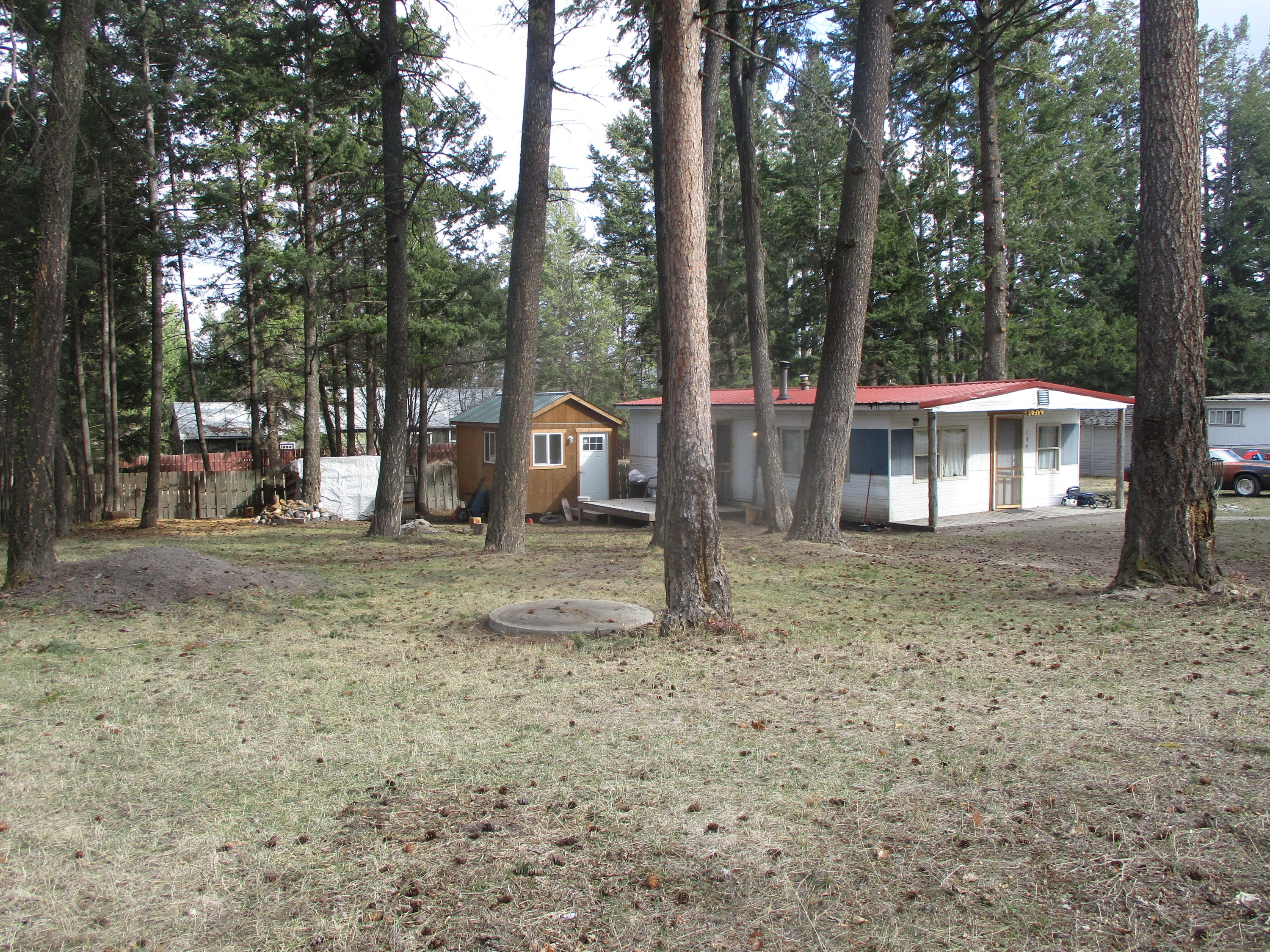 Wonderful Lakeside location just a short stroll to beautiful Flathead Lake, Volunteer Park,  and the quaint little town of Lakeside, and just minutes to Blacktail Mountain Recreation Area.  This is a beautiful end-of-the-road lot with mature trees; the cozy two bedroom/one bathroom has made a great rental and would make a great vacation home or otherwise!  Call Judy Fountain at 406-253-6741 or your real estate professional for more information.