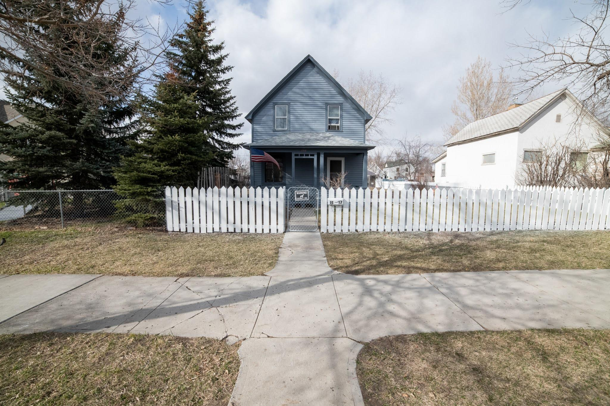 Did you say affordable and has potential?  Don't pass up this 3 bedroom 1 bath home with hard floors throughout, refinish them to your liking.  HUGE backyard that leads to a 1 car garage with extra workshop space.  Don't forget the extra parking room and dog run.  Call Jennifer Benski (406) 590-2099, or your real estate professional.