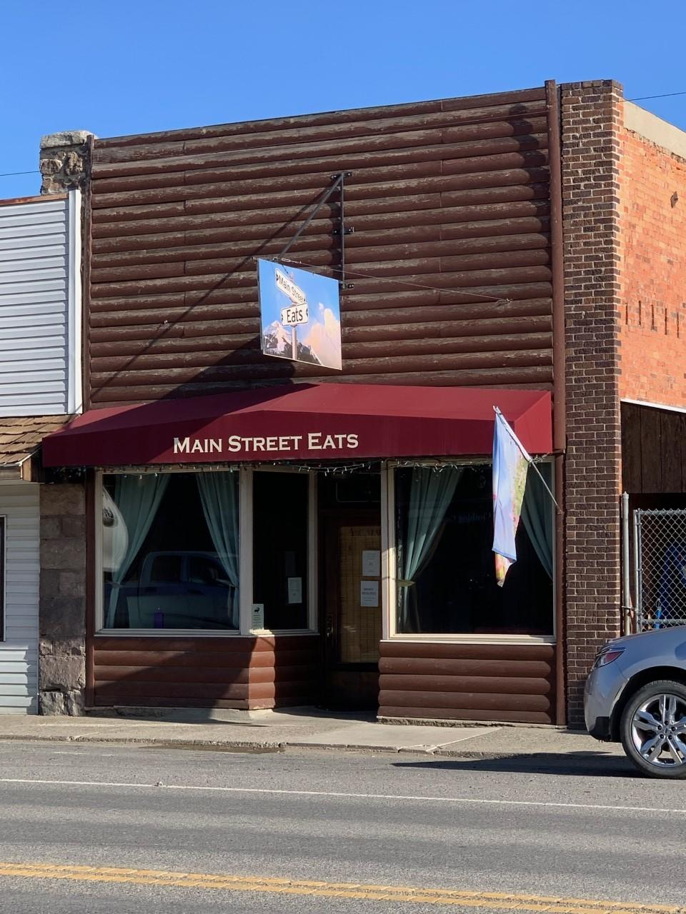 Jump on this fabulous opportunity to own one of the areas favorite eateries! Prime location in downtown East Helena with storefront windows right on Main Street. This one even has a covered outdoor seating space and storeroom. Either buy the building and grow your own business or buy the building with the existing Main Street Eats   inventory, menu and training from the best! ($325,000) 2 pizza ovens, grill, coolers smallwares and more! East Helena is growing in leaps and bounds, get on the bandwagon with this proven success story! Call Tobie McDonnell at 406-202-3272 or your real estate professional for more information!