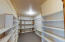 Downstairs storage room