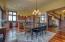 Open Floor Plan Living Dining Kitchen