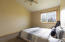 Large and bright bedroom overlooking the Clark Fork River.