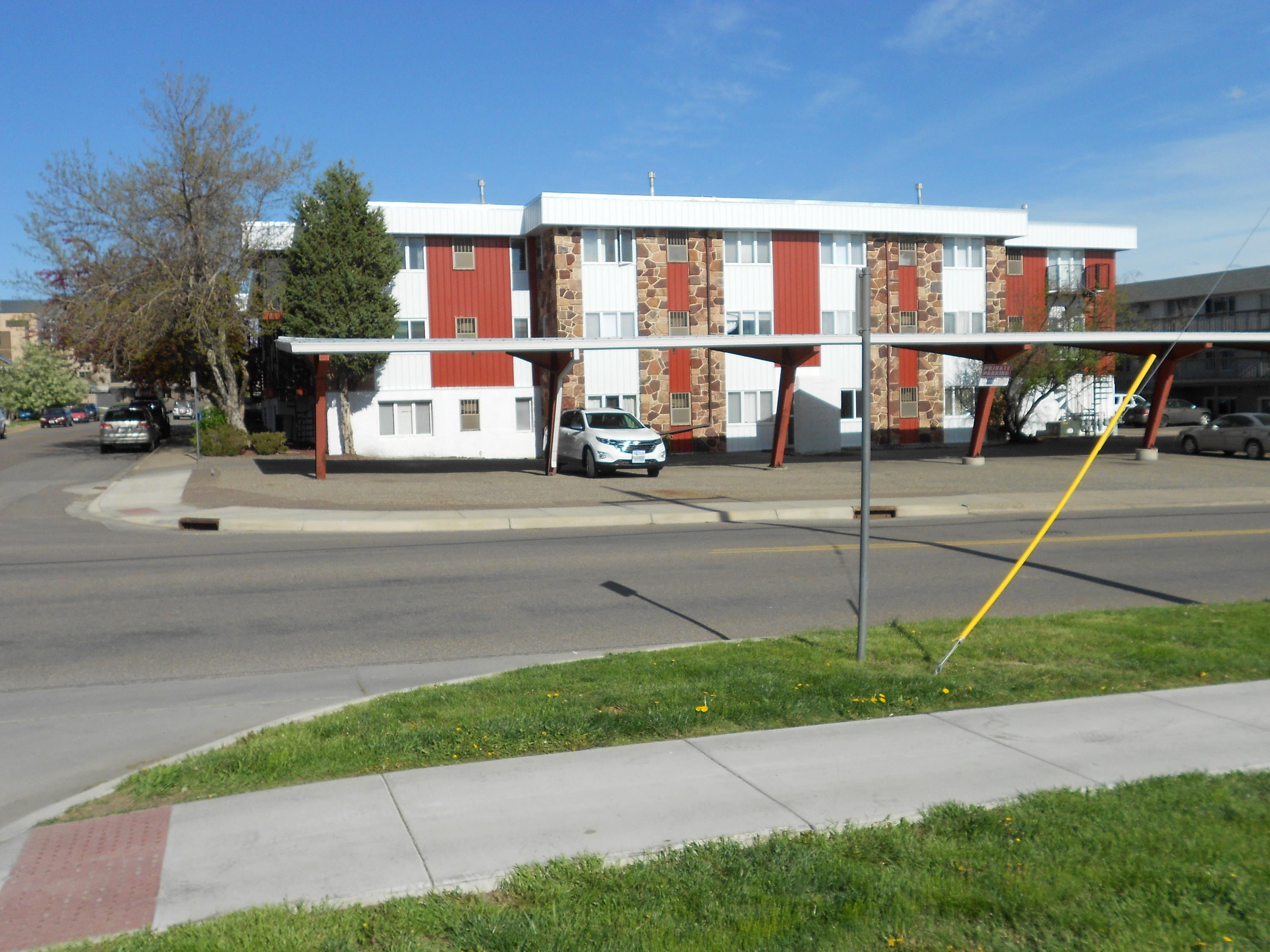 Great opportunity to own a condo that has 2 decks, an indoor parking stall with your own remote, 3 bedrooms one with an ensuite and a 2nd bathroom for everyone else. The laundry is 4 steps out the front door. a couple of blocks to the hospital, banking, grocery stores, etc... Call Ron Dodd at 406-799-2829, or your real estate professional.