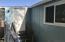 Back door and storage addition