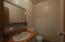 Garage restroom
