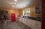 Kitchen or break room with Smeg fridge