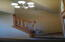 look at foyer from dining room area