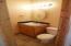main floor half bath