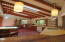 Natural accents: wood beams, barnwood, tile