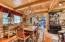 Kitchen dining nook.