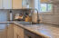 And the white subway tile backsplash is so clean and crisp!
